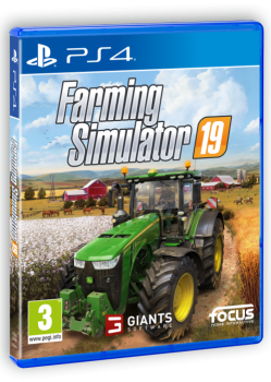 PS4-Farming Simulator 19