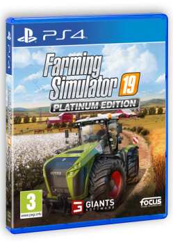 PS4-Farming Simulator 19 Platinum Edition
