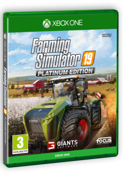 XONE-Farming Simulator 19 Platinum Edition