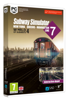 World of Subways 4 – New York Line 7